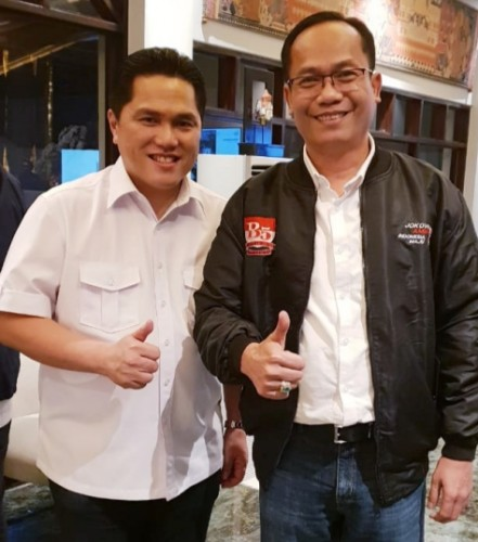 Setelah pelantikan Kabinet Indonesia Maju kemarin (23/10) pagi, terutama pada kementerian BUMN, Menteri Erick mengusulkan lebih dari satu wakilnya dan hal tersebut rupanya mendapat izin dari Presiden Jokowi.